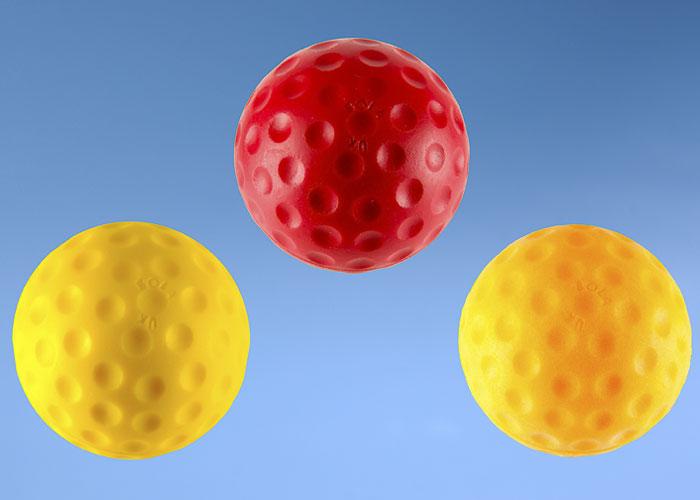 Orange 3oz Bola Bowling Machine Ball